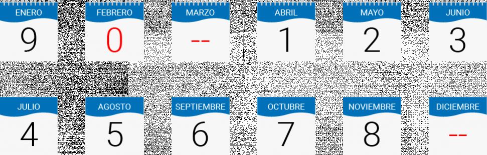 Calendario Planta de Revisión Técnica