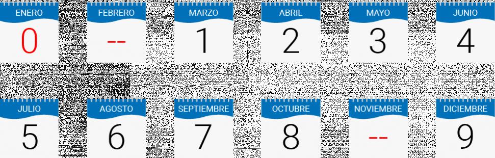 Calendario PRT